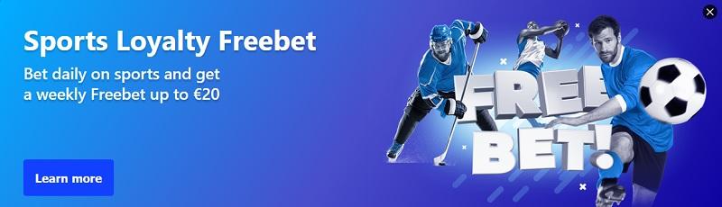 Pravidelný free bet v sázkové kanceláři BetMaster