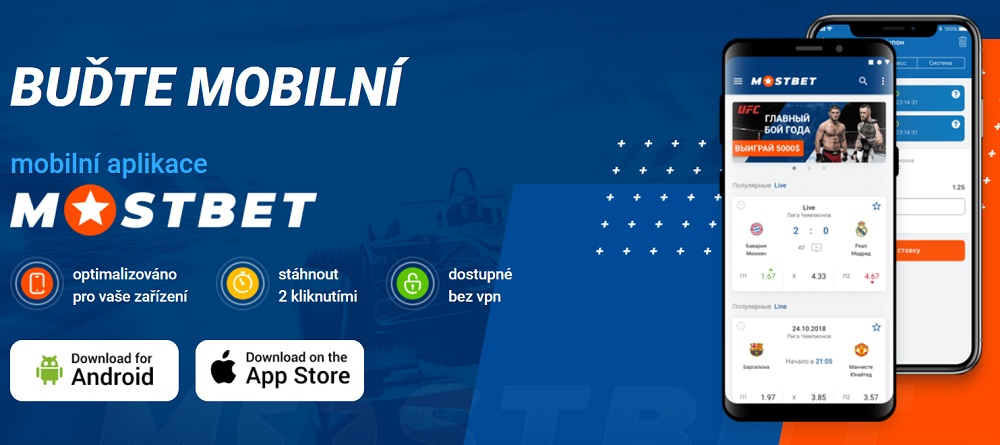 Mostbet aplikace pro mobil