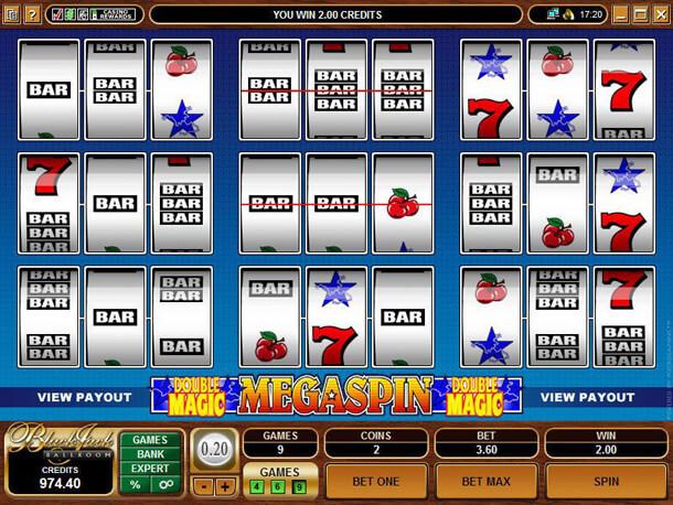 HRÁT zdarma automat MegaSpin Double Magic
