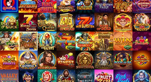 Široká nabídka her je jedním ze znaků (dobrého) online casina (snímek z Vulkan Vegas Casino)