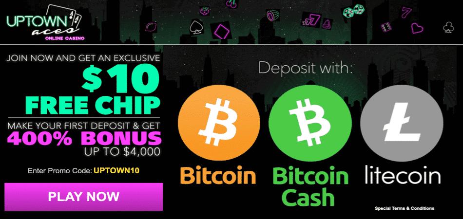 BTC casina nabízejí speciální bonusy pro krypto hráče