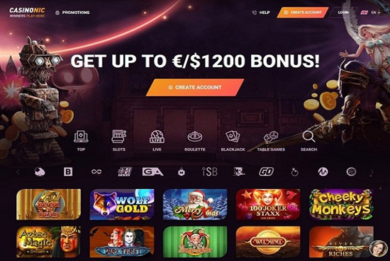 bitcoin casino Casinonic