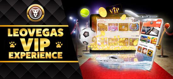 Věrnostní program v online casinu LeoVegas Casino
