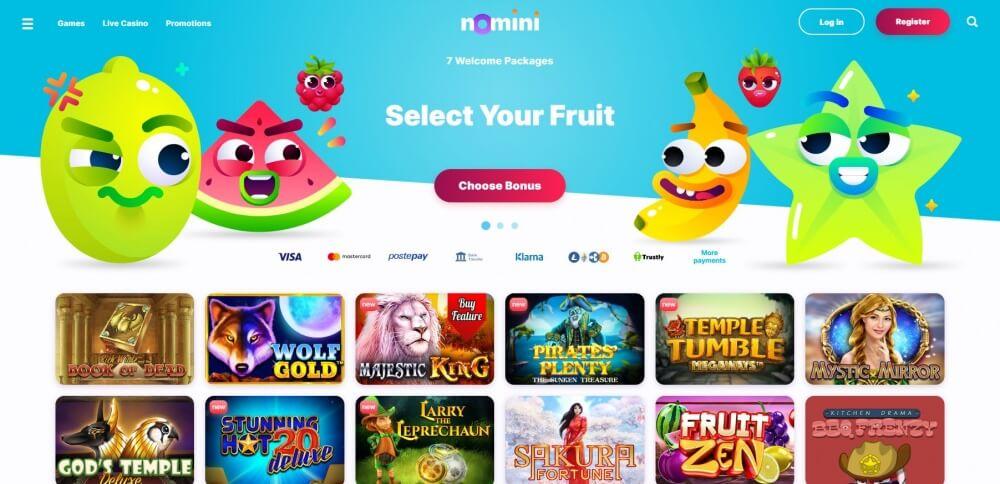bitcoin casino Nomini