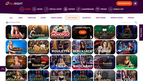 online casino AllRight
