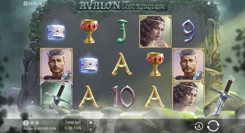 Free spiny na automat Avalon: The Lost Kingdom