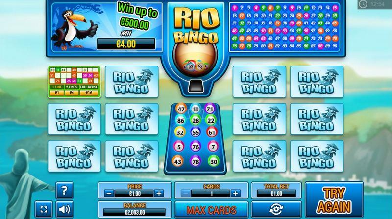 Rio Bingo online v casinu Boa Boa