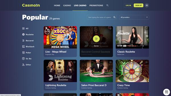 online casino Casinoin