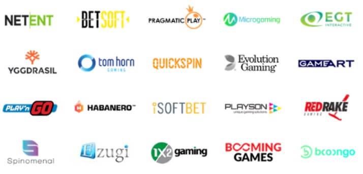 Herní vývojáři v online casinu Casinomia
