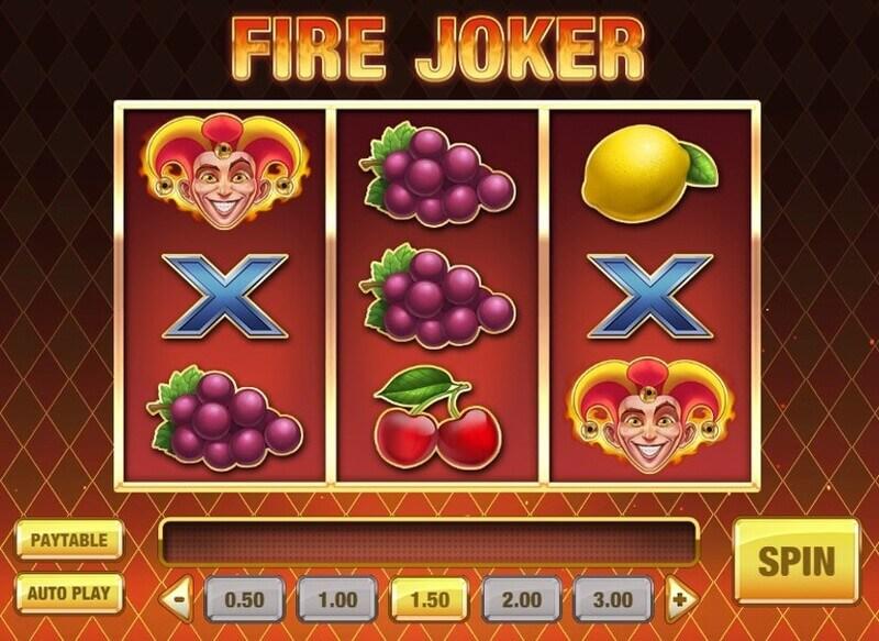 Free spiny na automat Fire Joker