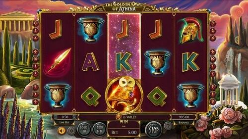 Free spiny na automat Golden Owl of Athena a další