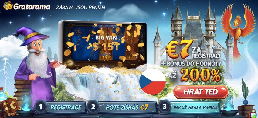 Online casino Gratorama a jeho herní automaty