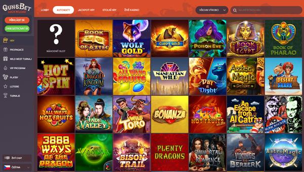 online casino GunsBet