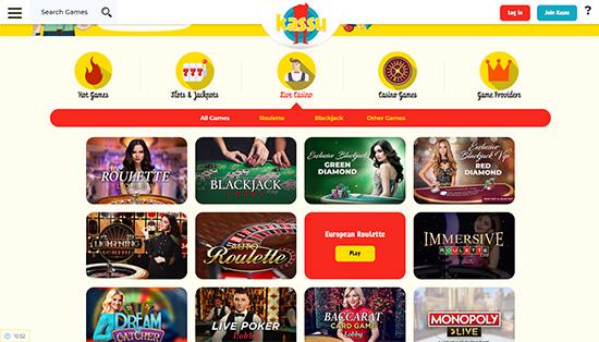 online casino Kassu