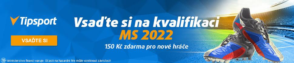 Sázejte na kvalifikaci na MS 2022