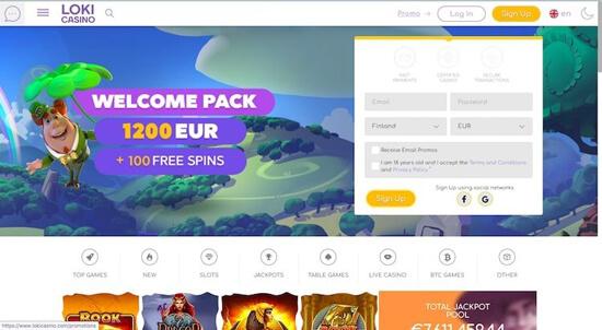 bitcoin casino Loki