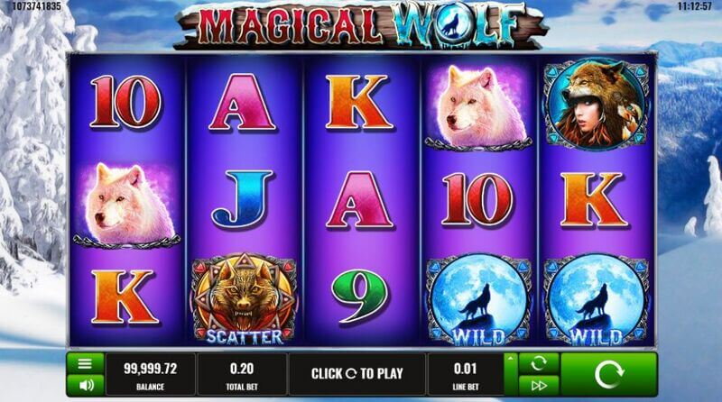Free spiny na automat Magical Wolf