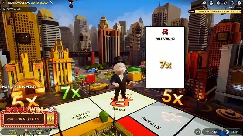 Zahrajete si Monopoly live v Playamo Casinu