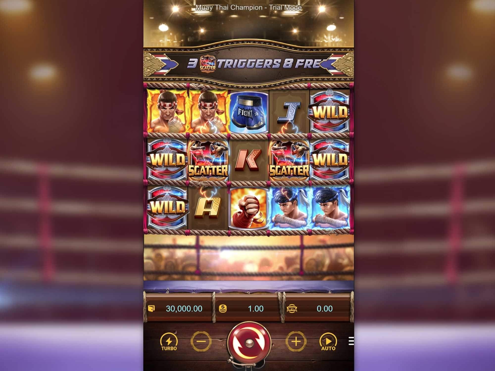 Free spiny na automat Muay Thai Champion