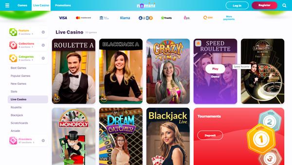 online casino Nomini