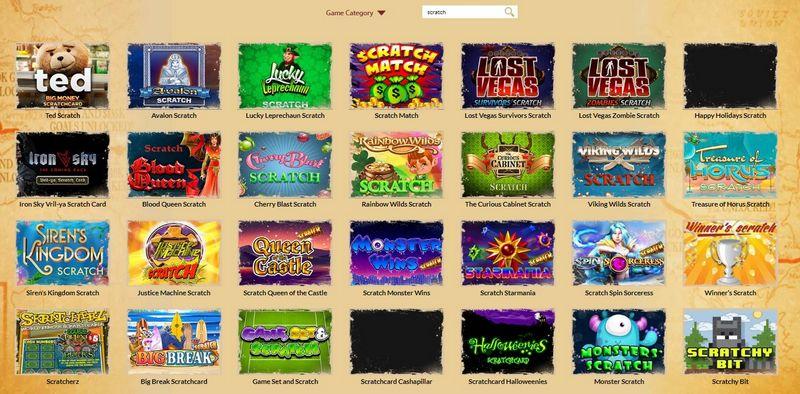 Screenshot online losů v online casinu Orient Express