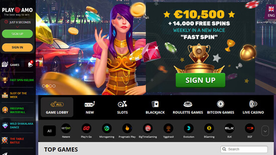 online casino Playamo