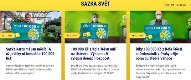 RECENZE online casina Sazka Hry