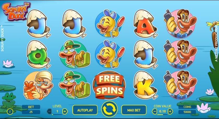 Free spiny na automat Scruffy Duck