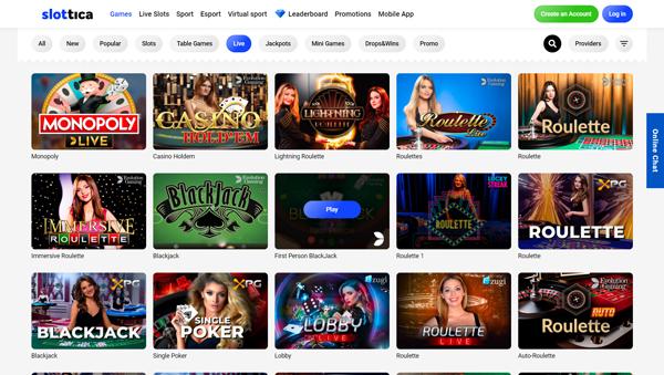 online casino Slottica