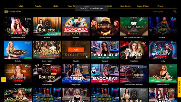 online casino Spinamba