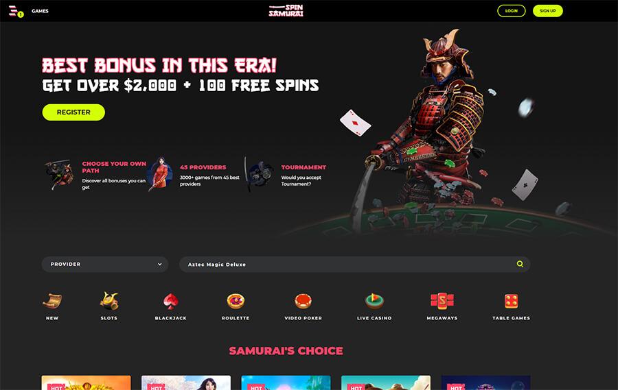 RECENZE online casina Spin Samurai