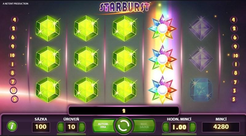 Starburst free spins no deposit v online casinu Fortune Clock
