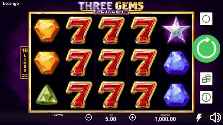 Free spiny na automat Three gems