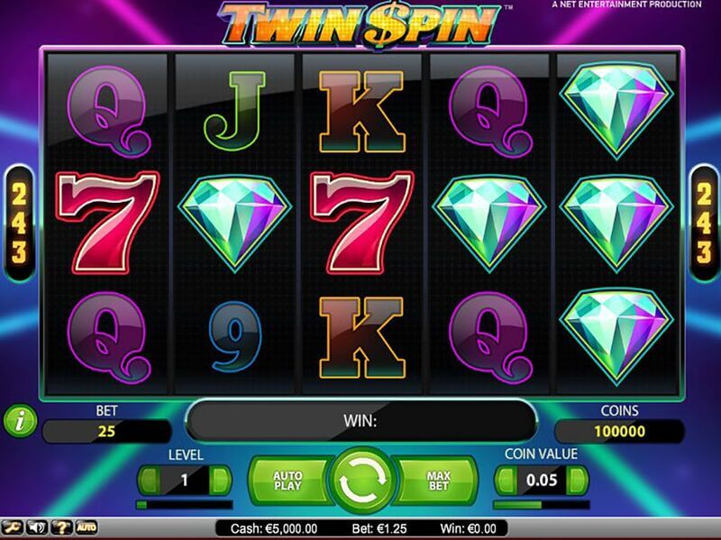 Free spiny na automat Twin Spin