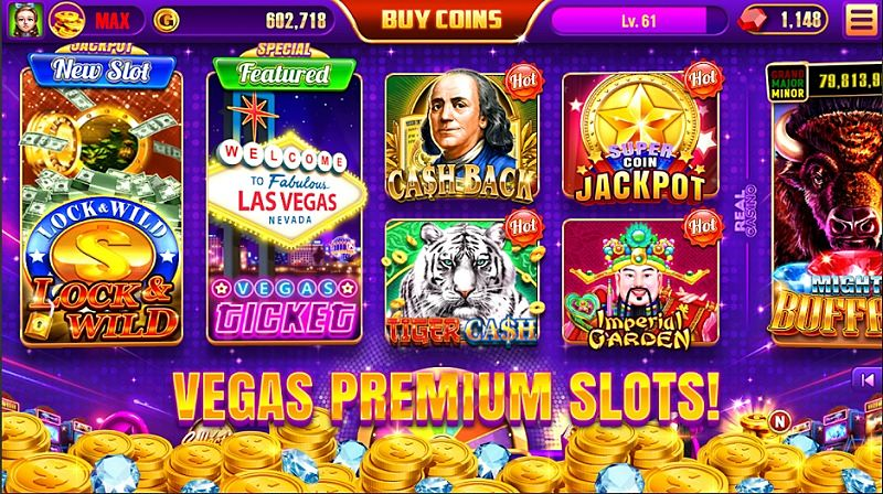 Screen ze hry Real Casino Slots