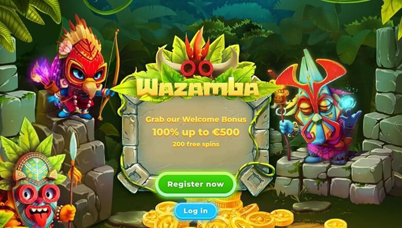 Home page online casina Wazamba Casino