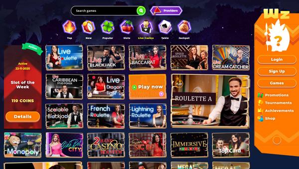 online casino Wazamba