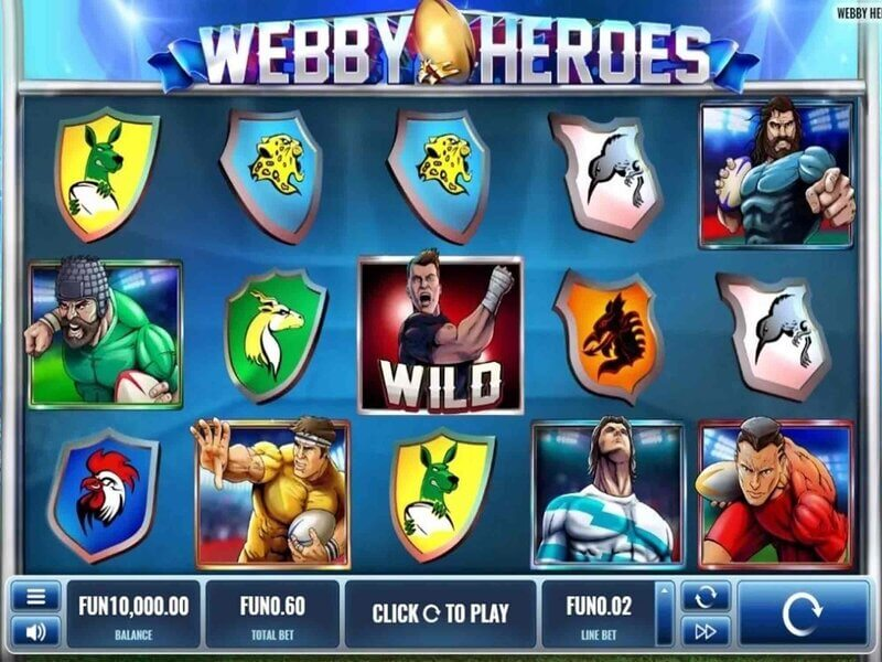 Free spiny na automat Webby Heroes