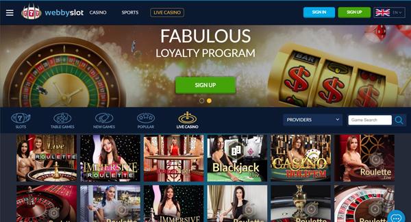 online casino WebbySlot