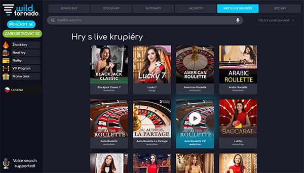 online casino WildTornado