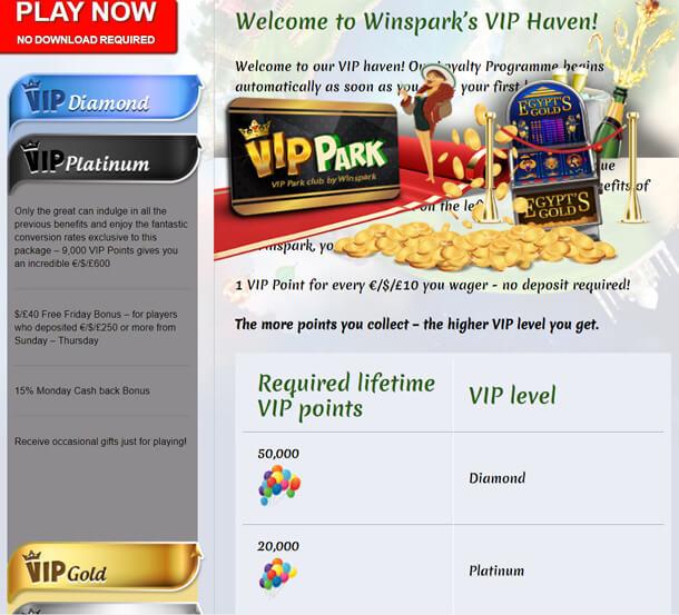 RECENZE online casina Winspark