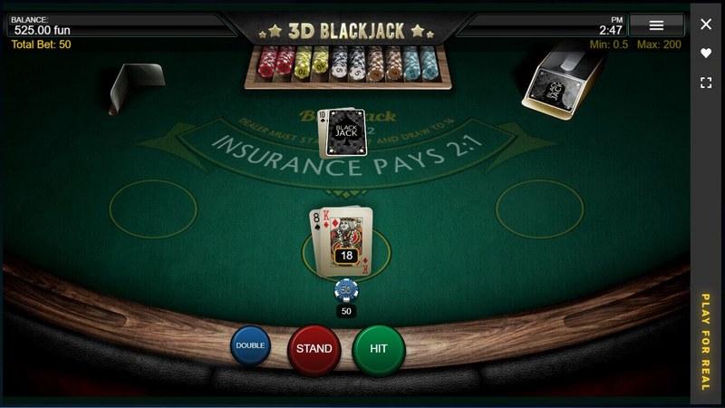 Blackjack v online casinu Zet Casino