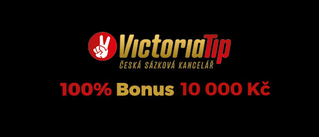 Ve VictoriaTip sázkové kanceláři dostaneš bonus bez nutnosti vkladu