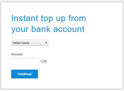 Nabytí účtu na PayPal