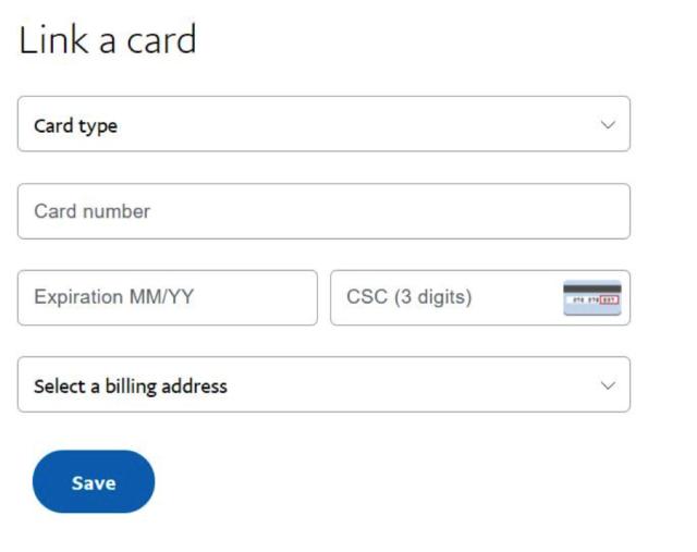 Jak přidat kartu PayPal