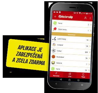 Nová Mobilní aplikace 2.0 Victoria Tip pro Android a IOS