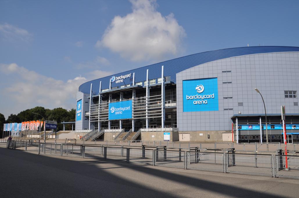 Barclaycard Arena Hamburg hazena MS sveta 2017