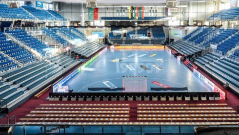 GETEC arena ms hazena zeny 2017 . Magdeburg