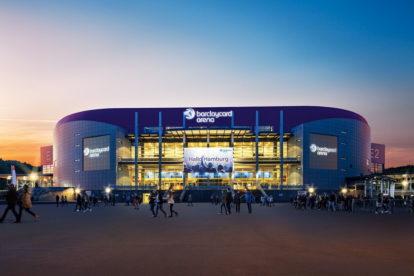 Hamburg barclaycard arena. ms hazena zeny 2017