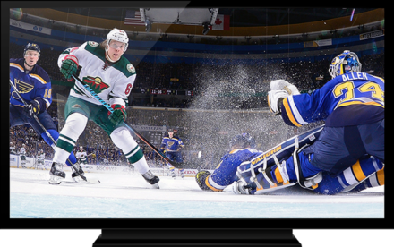 Hokej Online. Zive prenosy na hokej. NHL Rogers live Gamenter